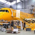 """Саратовские авиалинии"" отправили Embraer E195 на С-check в Польшу"